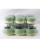 Magic Bullet Baby Replacement 6 Date Dial Storage Cups & Spill Tip Proof... - $10.88