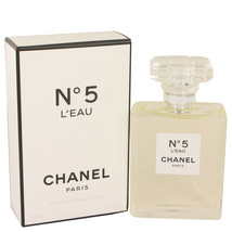Chanel No.5 L'eau Perfume 3.4 Oz Eau De Toilette Spray image 4