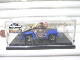 Matchbox 2004 Hero City Toy Fair Gold Whistle Car New Mint In New Mint Plexi Box - $14.25