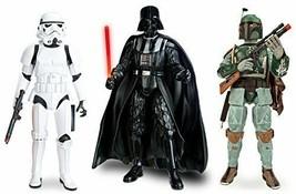 """Star Wars Talking Darth Vader Boba Fett Stormtrooper 13.5"""" Action Figure... - $188.09"""