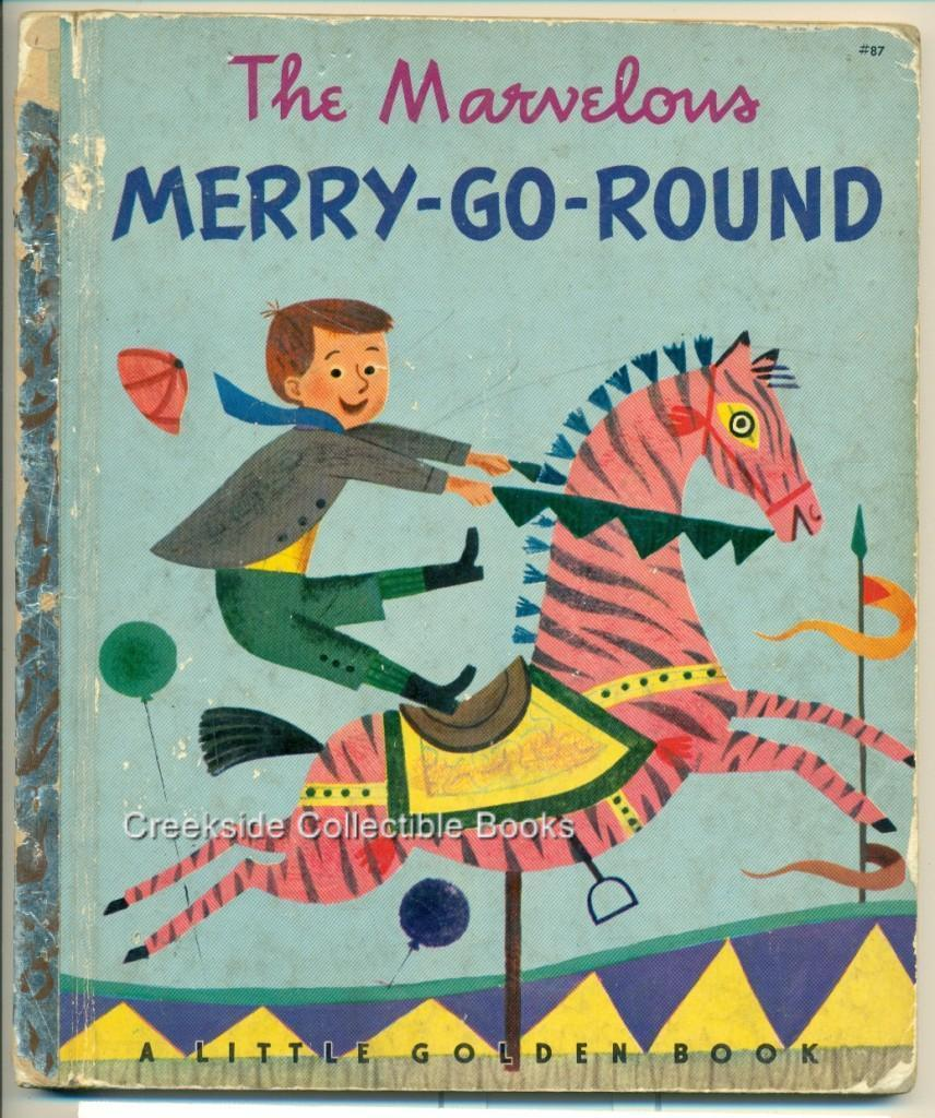 Little golden marvelous merry go round