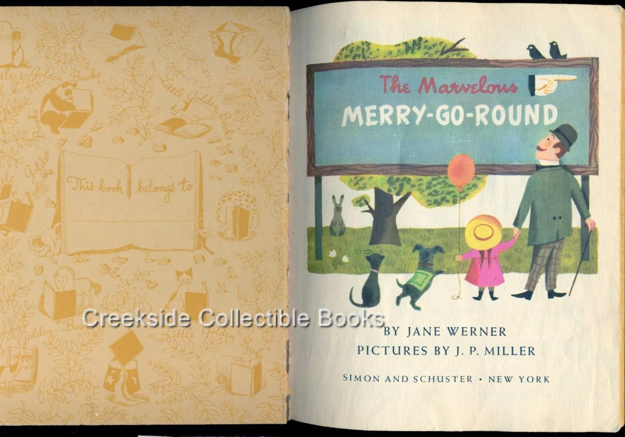 Little Golden Book The Marvelous Merry-Go-Round A