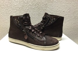 UGG BLANEY CRYSTALS CHOCOLATE ANKLE SNEAKER SHOES US 8 / EU 39 / UK 6.5 ... - $88.83