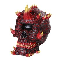 Mythical One Eyed Cyclops Skull Gothic Fantasy Collectible Figurine - $29.69