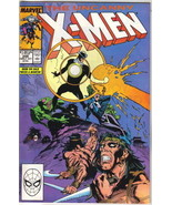 The Uncanny X-Men Comic Book #249 Marvel Comics 1989 VERY FINE/NEAR MINT... - $4.99