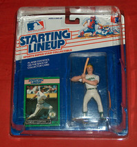 1989 Ed Starting Lineup Carney Lansford 3B Oakland A's Athletics In Disp... - $44.53