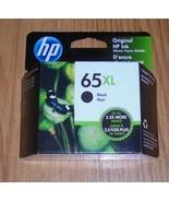 Genuine HP 65XL (N9K04AN) Black Ink Cartridge 2021 New 65 XL - $25.23