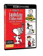An item in the DVDs & Movies category: Peanuts Holiday Collection (4K Ultra HD + Blu-ray)
