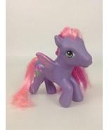 "My Little Pony Toy Figure 4.5"" Royal Rose 2005 Hasbro Mlp Pink Purple Fl... - $10.84"