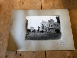 ANTIQUE/VINTAGE PHOTO OF ST CROSS CHURCH, WINCHESTER (ENGLAND) A4-SIZED - $6.46