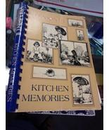 Cookbook used collectible vintage Vermont II Kitchen Memories 1985 - $7.70
