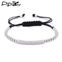 European and American Popular Brand Rope Charm Bracelet Men Fashion CZ T... - $10.61