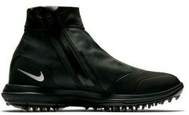 NIKE LUNAR VAPORSTORM BOA WATERPROOF GOLF BLACK SIZE 11 WIDE NEW (918622-001)  image 3