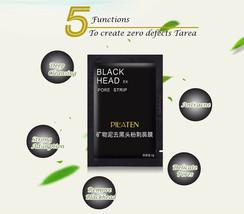 10 Pilaten blackhead remover,deep cleansing black mud mask, acne pore strip peel - $5.37