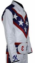 Evel Knievel Daredevil White Biker Leather Costume Jacket Pants image 2