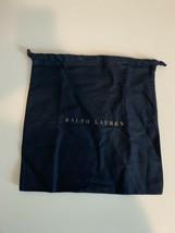 Ralph Lauren Small  Dark Blue Drawstring Storage Dust Bag - $16.70