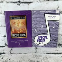 Devotional Lot Of 2 Song Books Hyms Sheet Music Religious Softcovers - $9.89