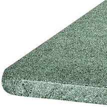 Granite Elasticized Banquet Table Cover-48X24OBLONG-GREEN - $15.24