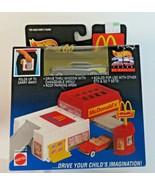 Hot Wheels McDonald's Sto & Go Hot Rod Mattel 57 Chevy 1995 25 years Quality - $23.99