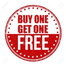 Buy one item, get another one free! PRINTED PUBLICATIONS ONLY! - $100.00