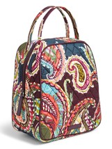 Vera Bradley Quilted Signature Cotton Lunch Bunch Bag, Heirloom Paisley