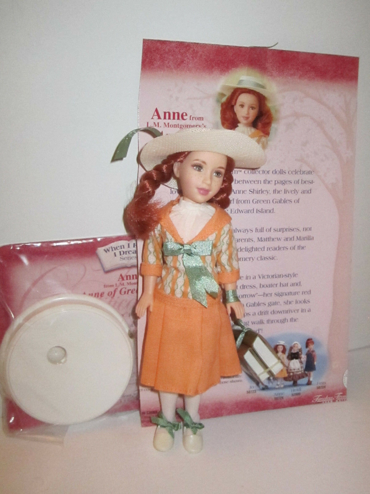 Primary image for When I Read I Dream Anne of Green Gables DEBOXED PERFECT Stacie Doll MINT