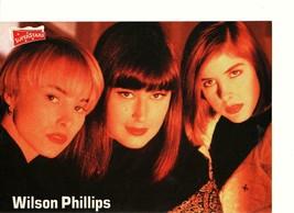 Wilson Phillips teen magazine pinup clipping close up Superstars magazin... - $1.50