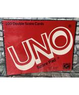 100 Double Score Cards UNO Score Pad Vintage 1978 Sealed - $9.89