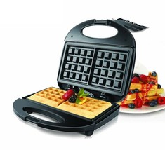 Electric Waffles Maker Pan Iron Machine Bubble Cake Oven Breakfast Machine - $33.58 CAD