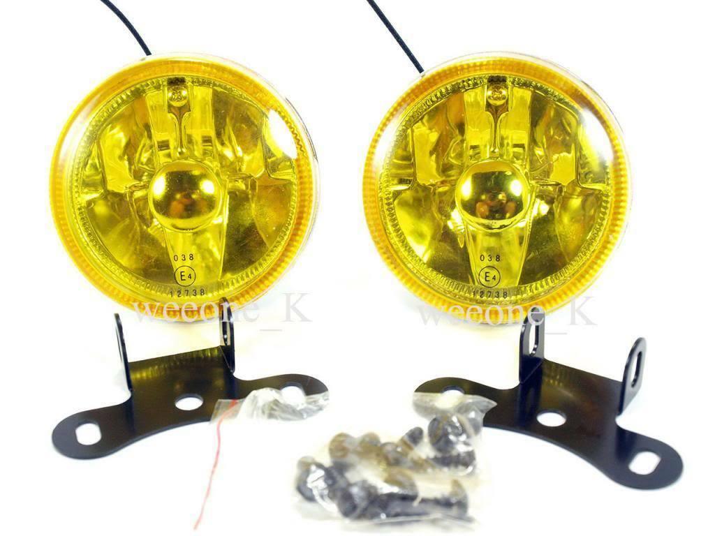 "DLAA H3 12V 55W 3.5"" YELLOW UNIVERSAL FOG LIGHT LAMP image 2"