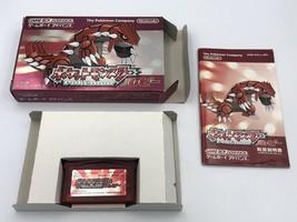 Pokémon Ruby Game Boy Advance GBA Japan CIB COMPLETE Pokemon box manual ... - $55.19