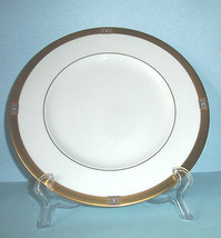 "Lenox Jewel Gold Accent Luncheon Plate 9.25"" NEW - $22.90"