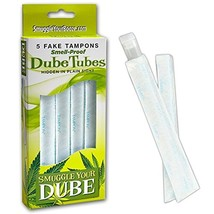 Tampon Dube Tubes: Set of 5 with Wrappers image 1