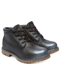 Timberland Women's Nellie Chukka Double Sole Waterproof Black Boots Shoes A12PK - $69.99+