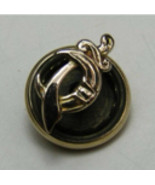 10k Yellow Gold Jewelry Lapel Pin Small Scimitar Sword Pharaoh Shriners ... - $59.99