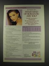 1991 Max Factor Le Jardin Fragrances Ad - Jane Seymour - $14.99