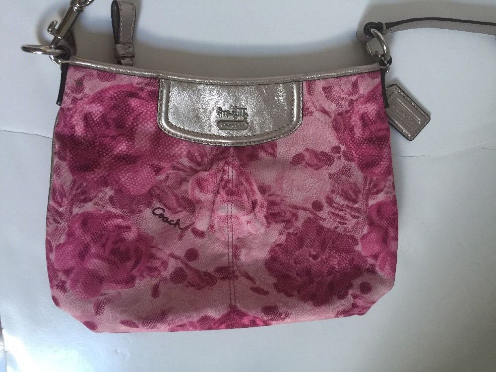 Coach bag crossbody madison maggie pink and similar items coach bag crossbody madison maggie pink floral 47594 b7 mightylinksfo