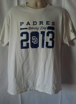 San Diego Padres Baseball MLB 2013 Opening Day Mens Shirt Size XL - $8.70 CAD
