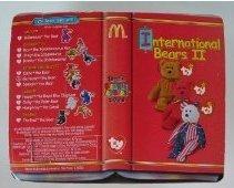 TY McDonald's Teenie Beanie - GERMANIA the Bear (2000)