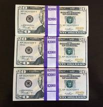 6.000 Prop Money Replica 20s New Style All Full Print For Movie Video Etc. - $63.99
