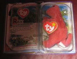 Rex the Dinosaur McDonald's Ty Teenie Beanie SuperStar 2000, beanie buddies - $75.95
