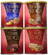 Brown & Haley Cashew Almond Roca, Mocha, Butter Crunch Toffee 39 Oz. - 4... - $37.57