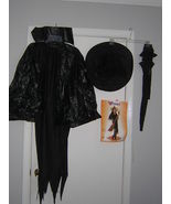 ADULT BLACK WITCH HALLOWEEN COSTUME SIZE STANDARD - $22.50