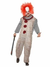 Vintage Clown Costume,Halloween Cirque Sinister Fancy Dress, Medium #CA - $50.15