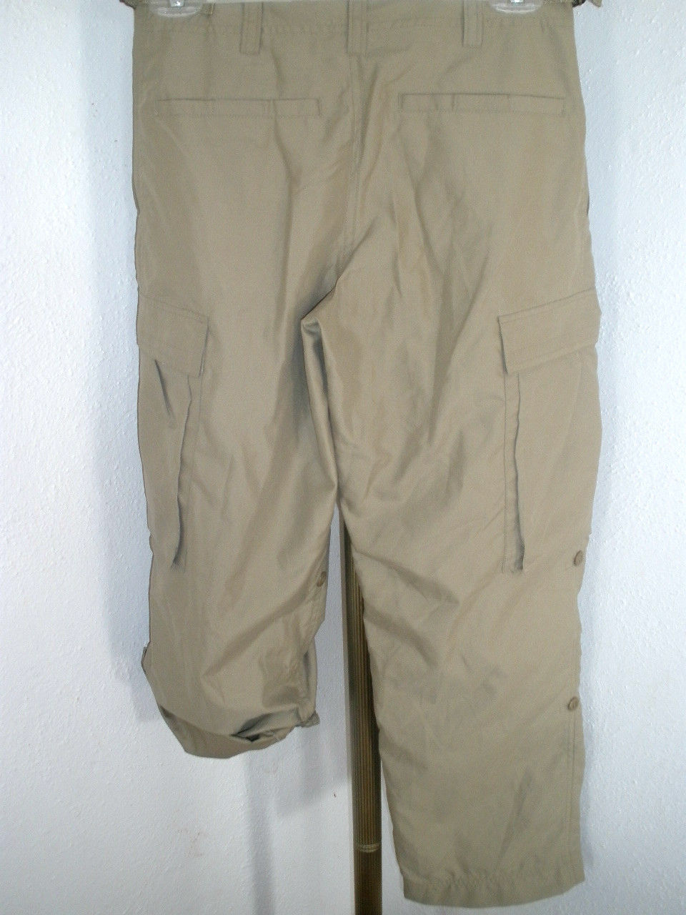 Kids GAP Adjustable Length Teflon Polyester Air Service Type Detail Pants Sz XL image 4