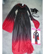 ADULT BLOOD VAMPIRESS HALLOWEEN COSTUME SIZE 2 - 8 - $22.50