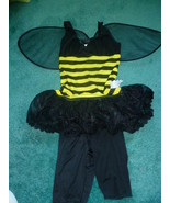 ADULT BUMBLE BEE HALLOWEEN COSTUME SIZE 4 - 6 - $20.00