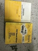 1987 TOYOTA COROLLA FF Service Repair Shop Manual OEM Set W EWD Worn OEM - $28.66
