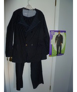 ADULT MEN'S GANGSTER SUIT HALLOWEEN COSTUME SIZ... - $25.00
