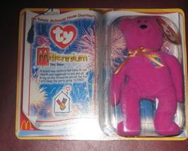 Ty Millrnnium bear, TY Teenie Beanie Babies 1999 - $3,200.00